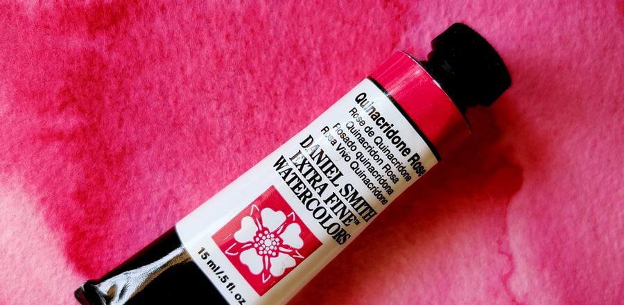 Kinakridon rosa