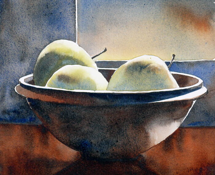 Three apples in a bowl – an exercise