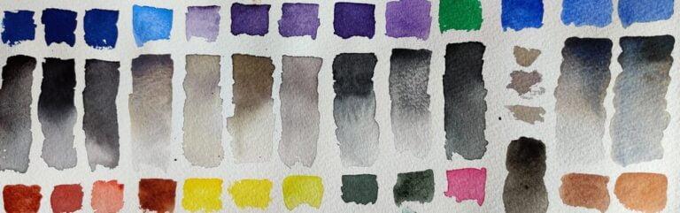 How I mix neutral colors