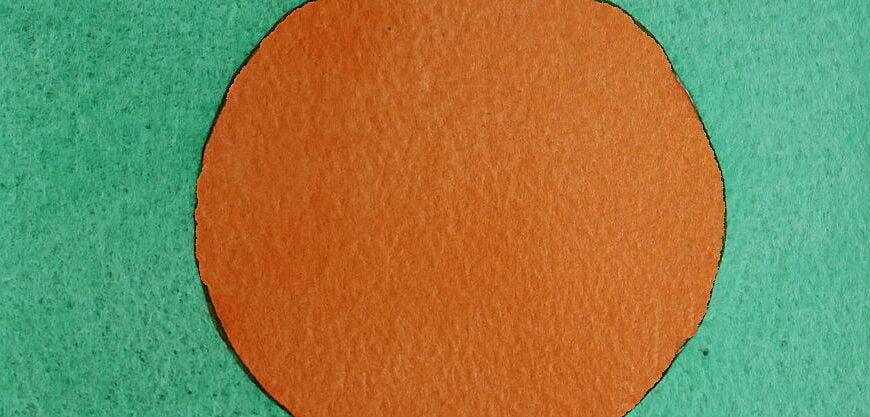 Coloring a circle