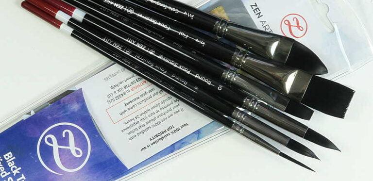 Black Tulip brush set