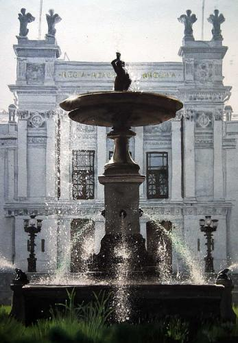 Fountain Lund University